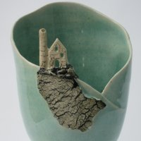 Celadon vase by Jeremy White