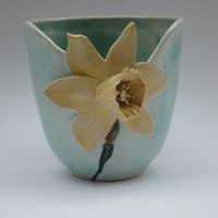 Daffodil vase by Jeremy White
